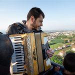 Musica dal vivo in mongolfiera