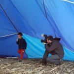 Servizio fotografico in mongolfiera